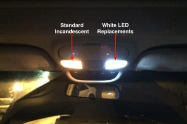 How to Replace 2004-2010 Toyota Sienna Interior Lights With LED's