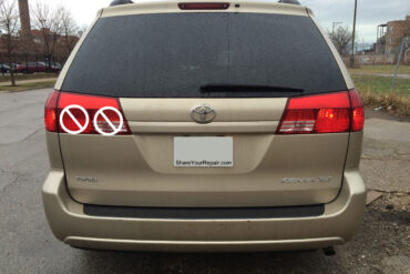 How To Replace Toyota Sienna Liftgate Tail Lights