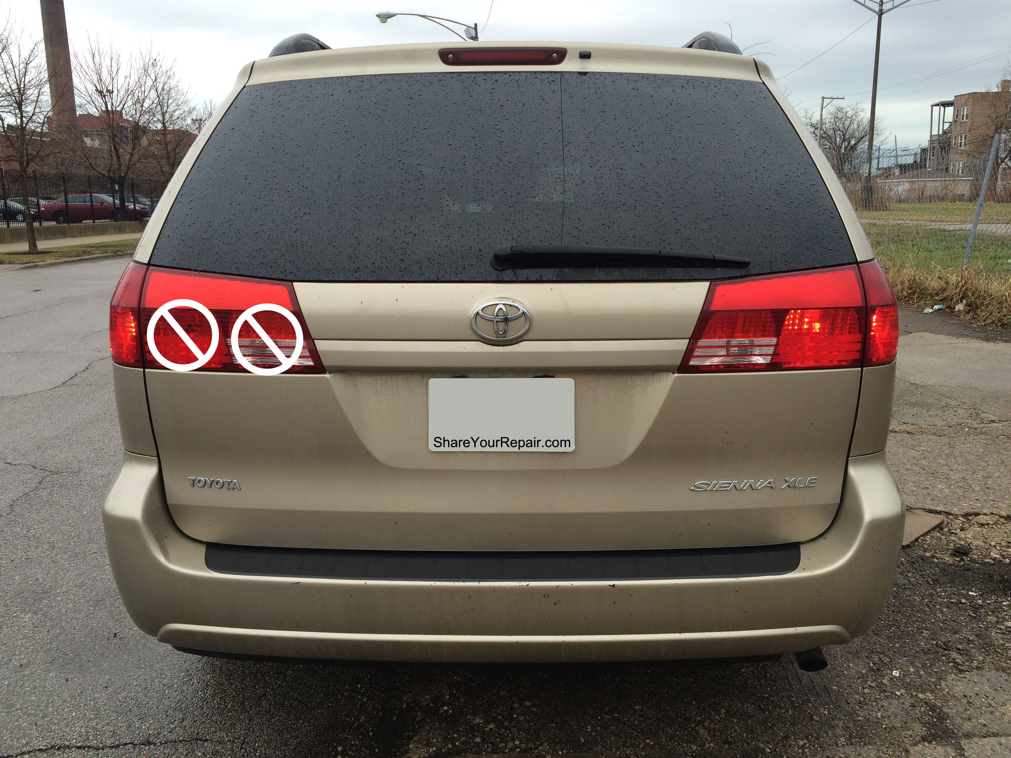 How To Replace Toyota Sienna Liftgate Tail Lights Share