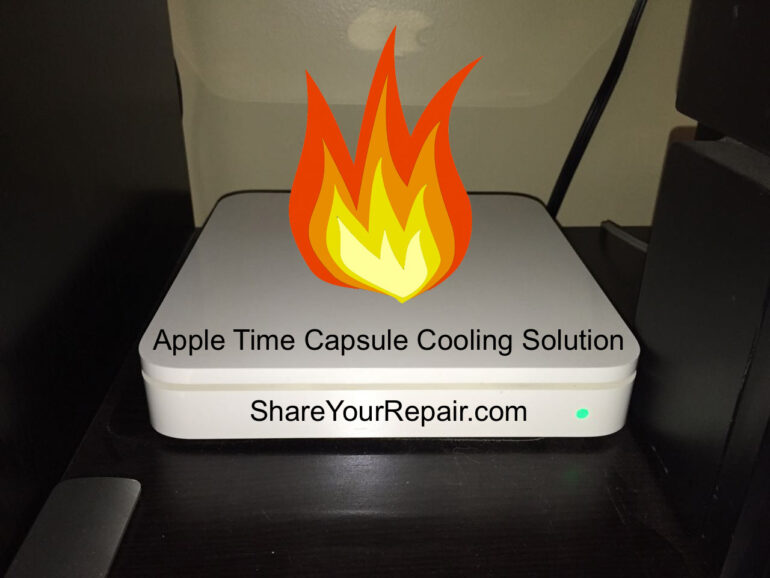Apple Time Capsule Cooling Solution