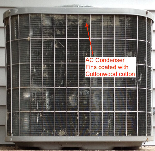 Cottonwood cotton coating AC Condenser fins
