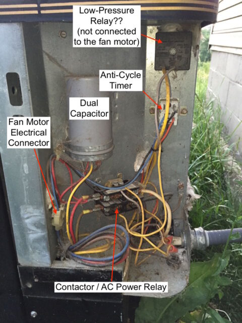 How To Replace An Ac Condenser Fan Motor  U00b7 Share Your Repair