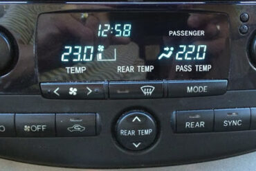 Change Air Conditioner Display on 2004-2010 Toyota Sienna From Metric to English