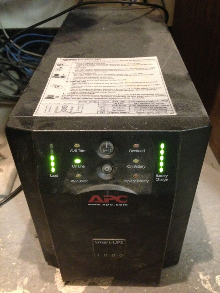 How to Replace the Batteries in an APC Smart-UPS 1000