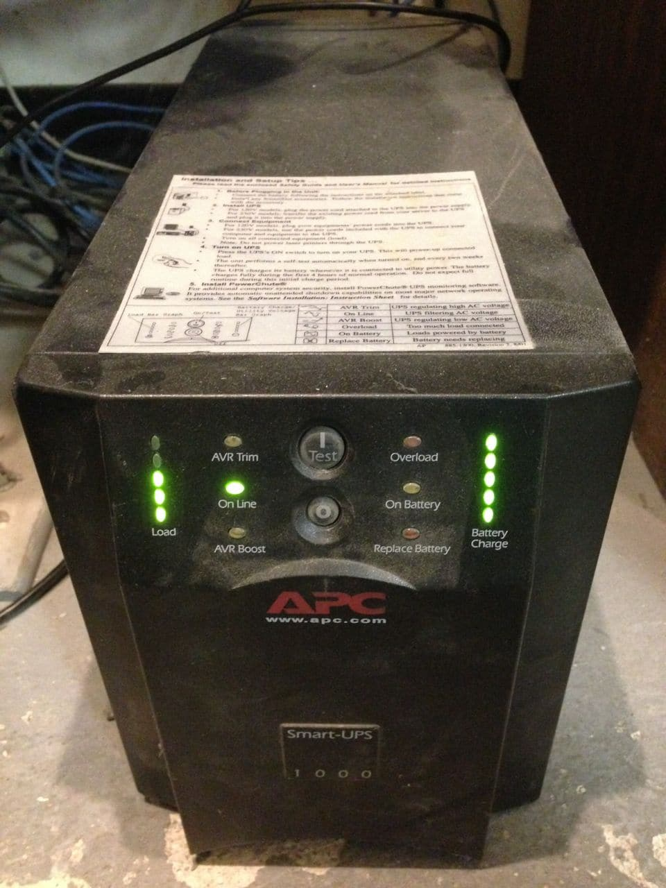 APC SMT1000 Battery Replacement Kit