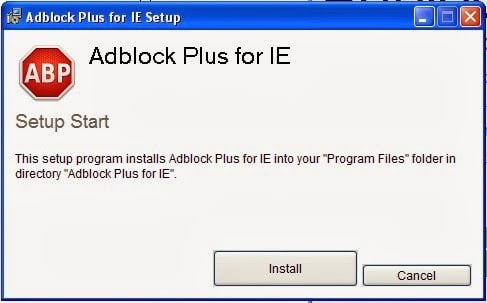 How to Install Adblock Plus for Internet Explorer in Windows