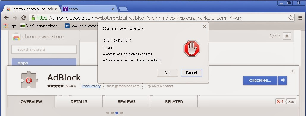 Adblock For Chrome On Xp Confirm New Extension Share