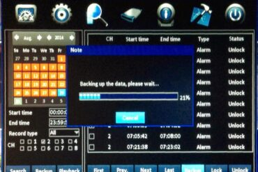 How to back up video on a NightOwl DVR