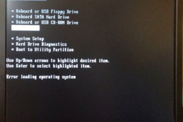 Error when trying to boot off of Windows 7 USB Installer: Error loading operating system