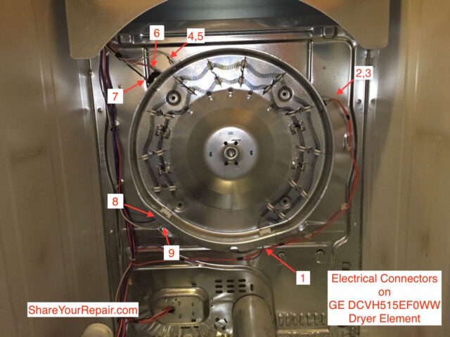 How To Replace Rear Bearing On Ge Dryer