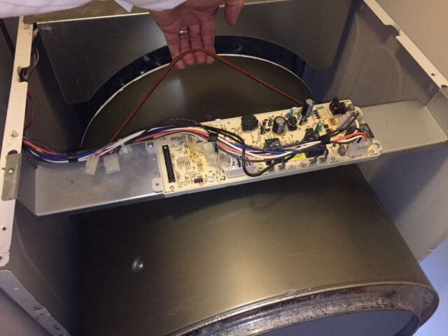 Reinstalling the drum into the dryer