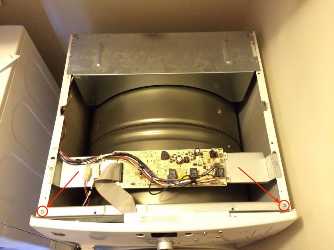How To Fix Squeaking Ge Dcvh515ef0ww Dryer Replace Drum