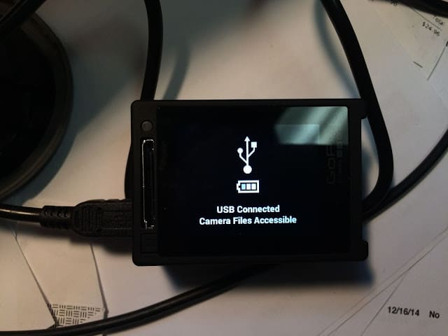 GoPro Not Detected By Computer When Connected by USB