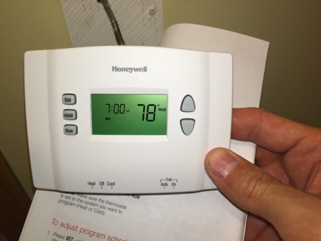 Thermostat Programming Done!