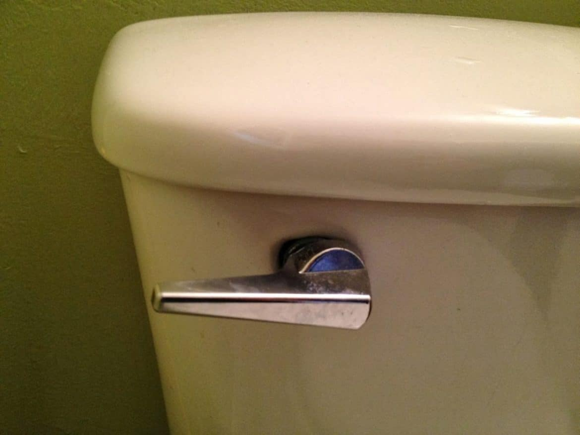 How To Replace A Toilet Flusher Handle Share Your Repair