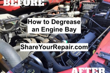 How to Degrease an Engine Bay