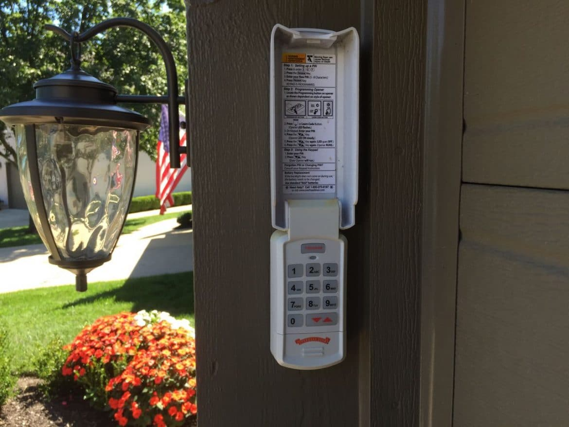 How To Fix Wireless Garage Keypad Not Working Share Your Repair