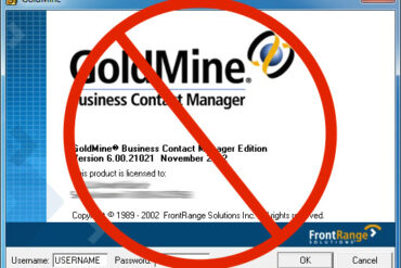 How to Make GoldMine 6.0 Auto-Login