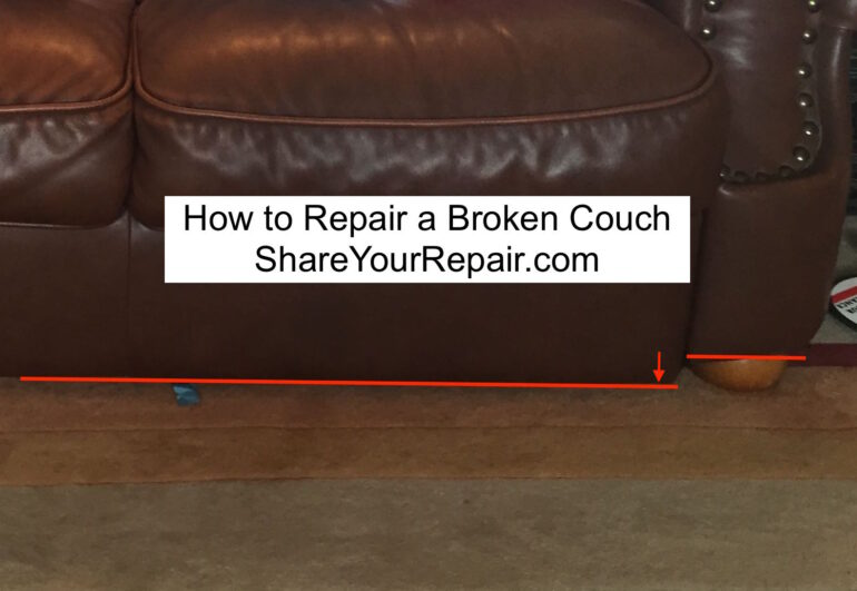 How to Repair a Broken Couch Frame
