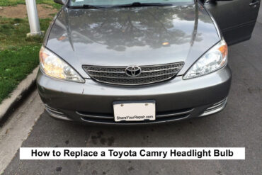 How to Replace Headlight Bulb Toyota Camry 2001-2006