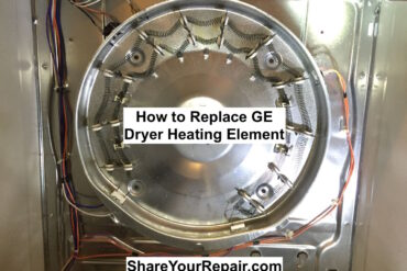 How to Replace Heating Element on GE Dryer