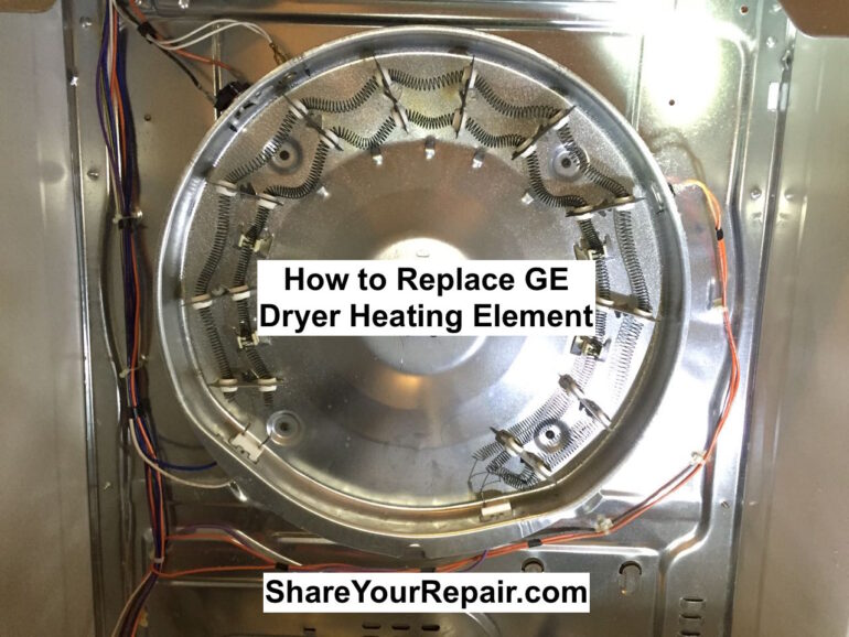 How to Replace Heating Element on GE Model DCVH515EF0WW Dryer 770x578 ge electric dryer wiring diagram dolgular com  at gsmx.co