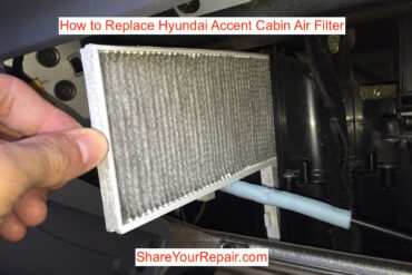 How to Replace Hyundai Accent Cabin Air Filter