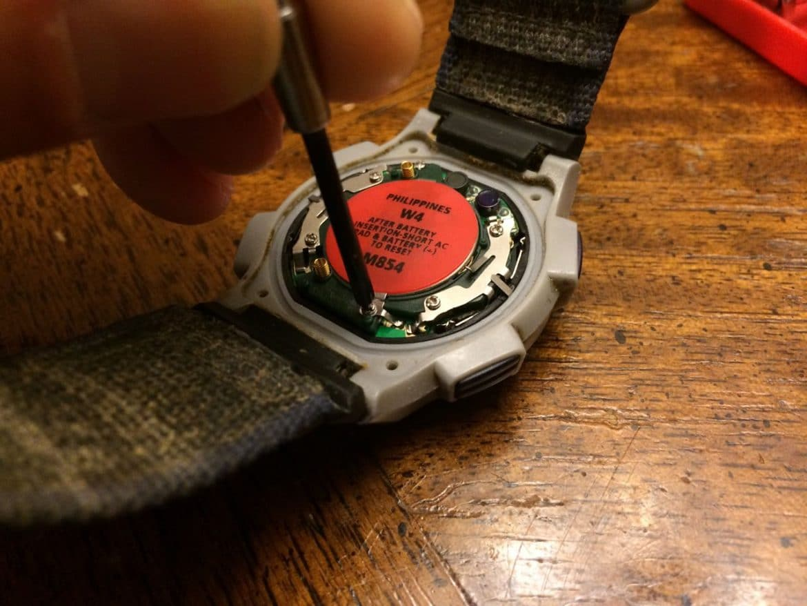 How To Replace Battery On Timex Ironman Triathlon Watch