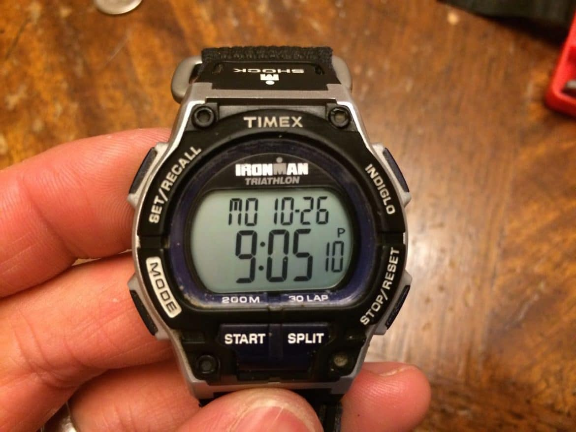 How To Replace Timex Ironman Triathlon Batteries Time Set