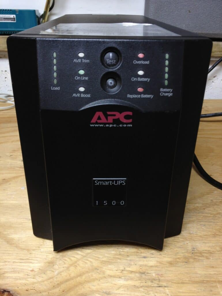 How To Replace The Battery In An Apc Smart Ups 1500 Share Your Repair Wiring Diagram