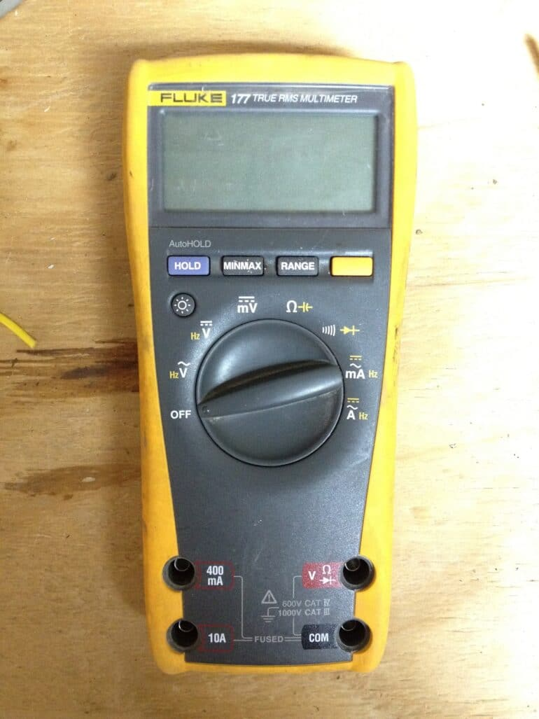 How to Replace the Fuses in a Fluke 177 True RMS Multimeter