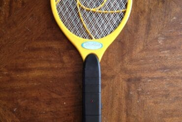 How to Replace the Rechargeable Battery in a Portable Handheld Electric Bug Zapper-Swatter