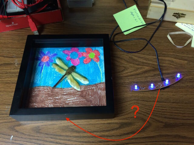 How to Repurpose AntWorks LED's in Shadow Box
