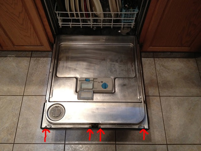 Dishwasher Door Will Not Open