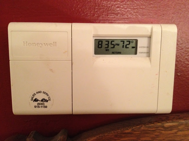 How To Program A Honeywell Thermostat Model T8112d1021 Share Your Repair