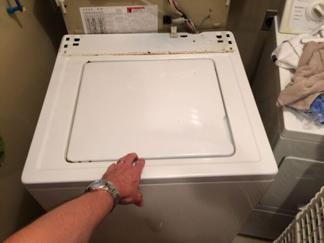 Kenmore 90 Series Washer Fills Slowly-Housing Back in Place