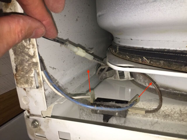 Kenmore Elite Dryer Door Switch Location