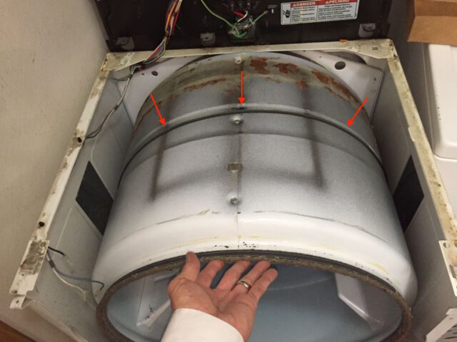 Kenmore Elite Dryer Drum Belt Placement