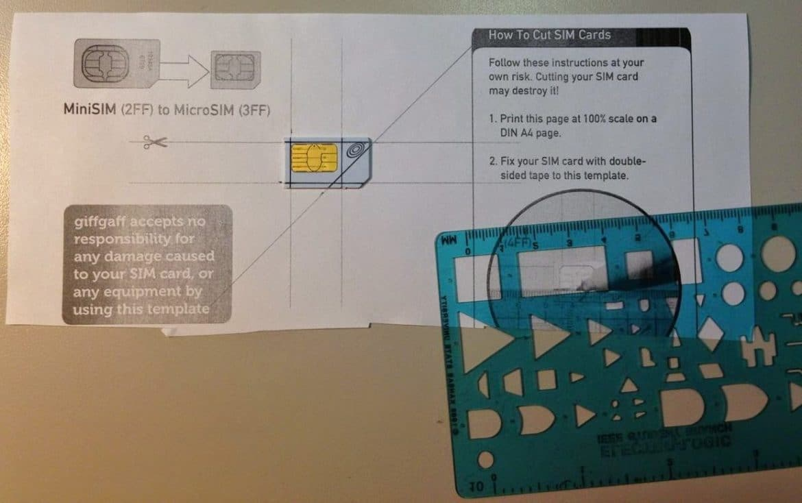 How To Trim A Mini Sim Down To A Micro Sim Share Your Repair