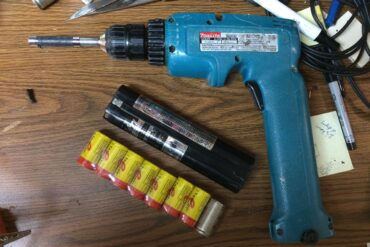 Refurbish Makita 9.6 V NiCad Battery Makita 9.6 V NiCad Battery Refurbish-6095D Drill & Battery 9000