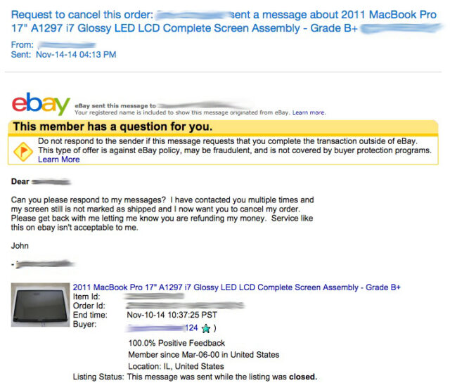 How to Get a Refund on an Ebay Purchase Even When You Lose Your Case ·  Share Your Repair