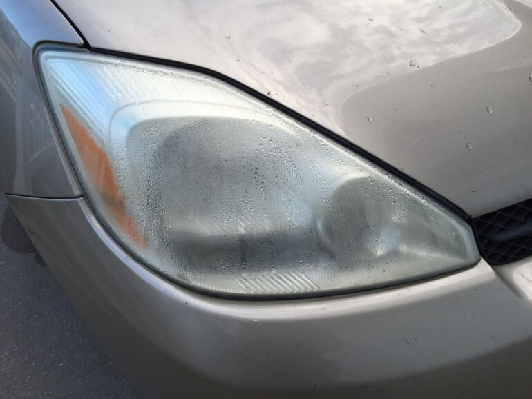 Moisture in Toyota Sienna Headlight