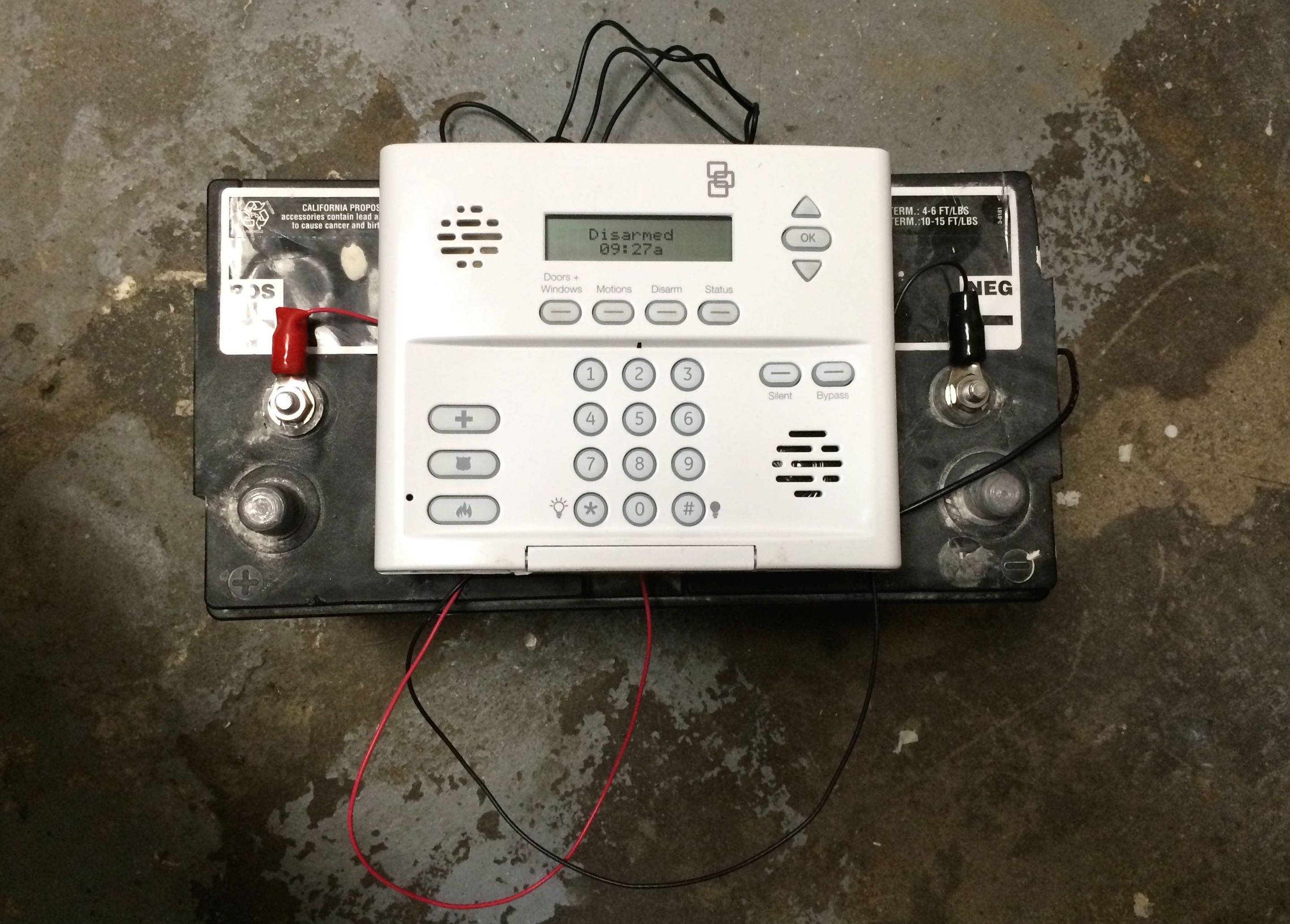 Power Simon Xt Alarm With Battery Share Your Repair