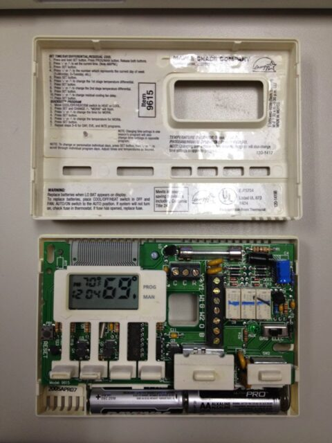 how to program a robertshaw 9615 thermostat share your repair rh shareyourrepair com