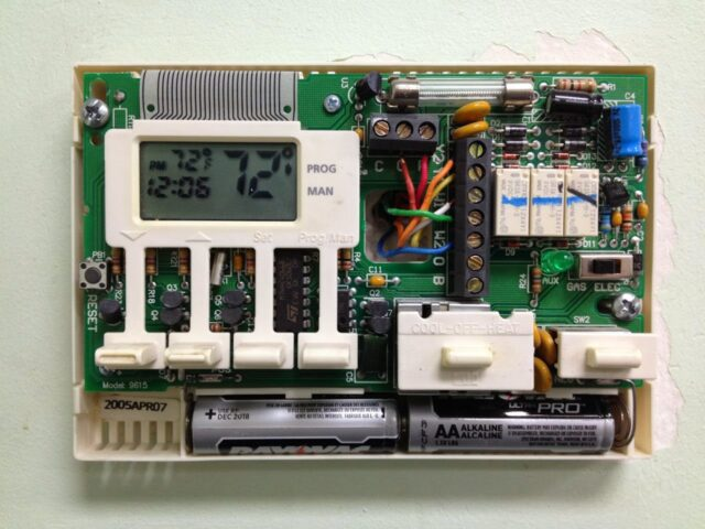 How to Program a Robertshaw 9615 Thermostat Share Your Repair – Robertshaw Thermostat Wiring Diagram