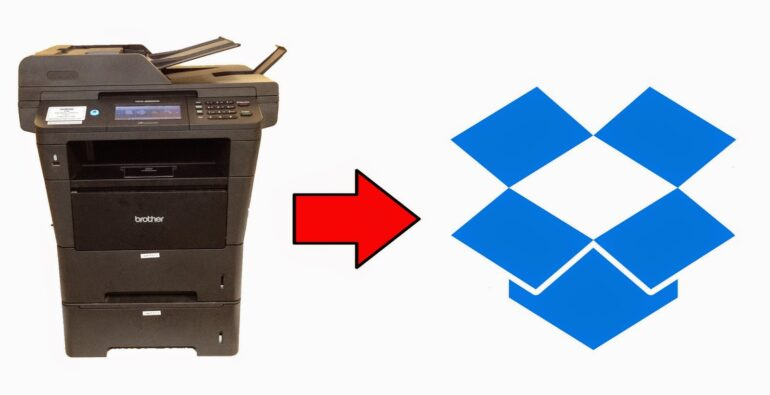 How to Scan Files to Dropbox