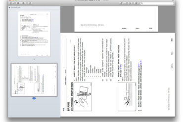 How to Rotate Individual Pages in a pdf on a Mac