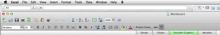 Excel Toolbars Disappear-How to Automate Fixing Them With Automator in Excel 2008 For Mac