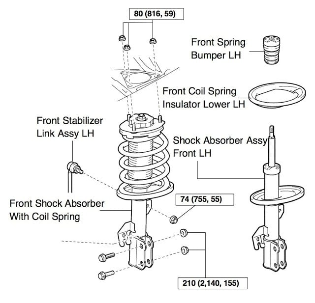 Replace Front Struts on Toyota Sienna 2004-2010 - Share Your Repair