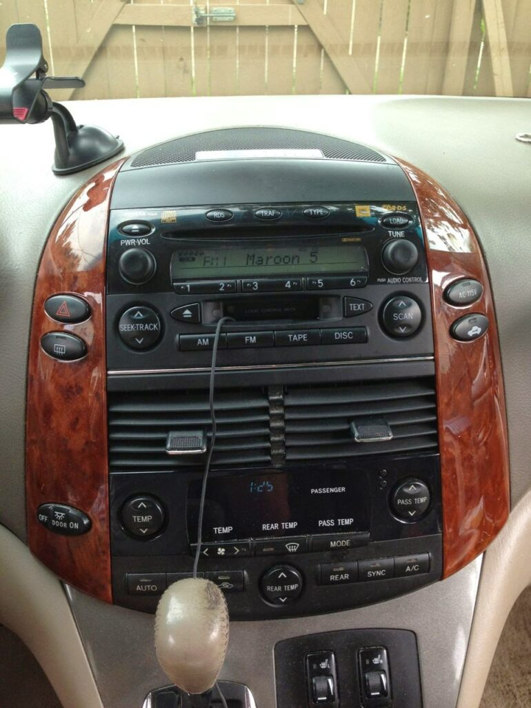How To Replace The Stereo On 2004 2010 Toyota Sienna Share Your Repair Realistic Car Radio Speaker Wiring Diagram A Model A56828
